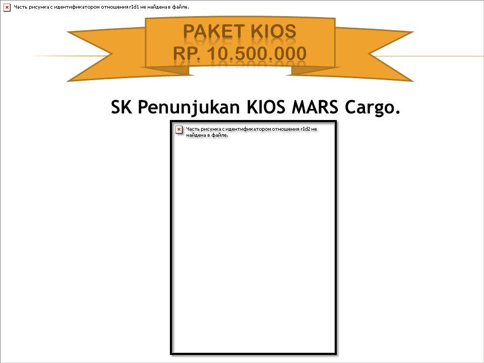 SK Penunjukan KIOS MARS Cargo.