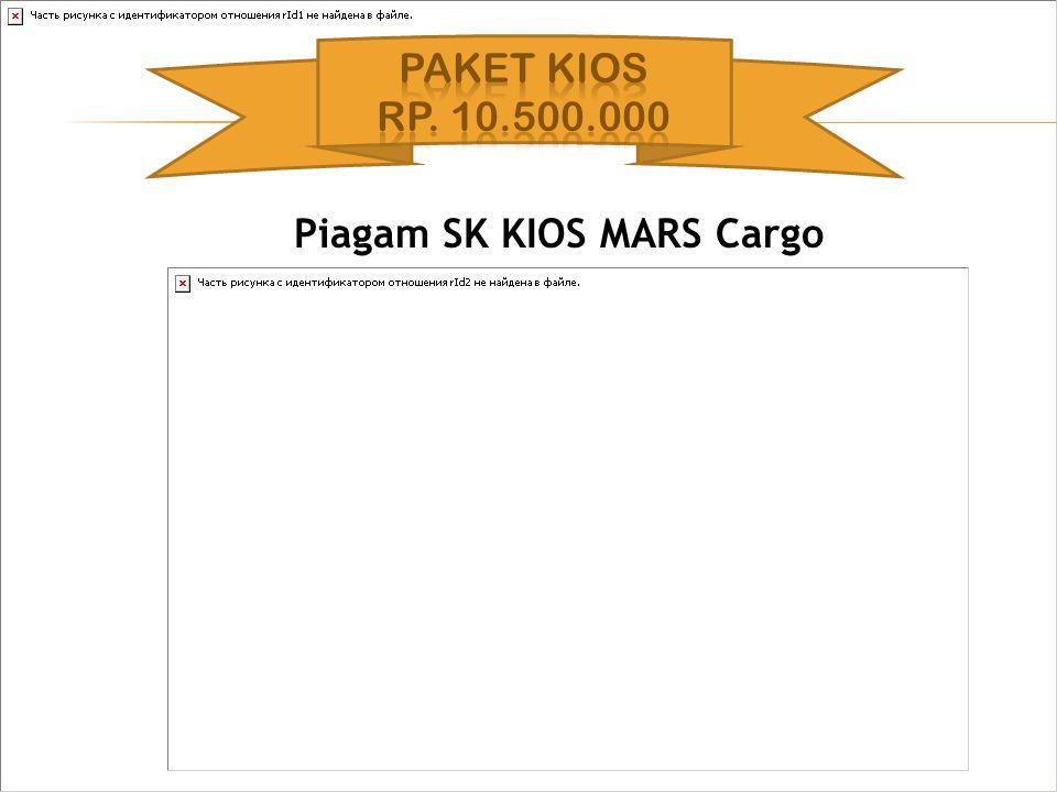 Piagam SK KIOS MARS Cargo
