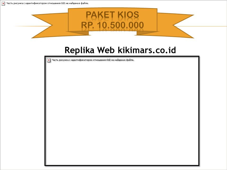 Replika Web kikimars.co.id