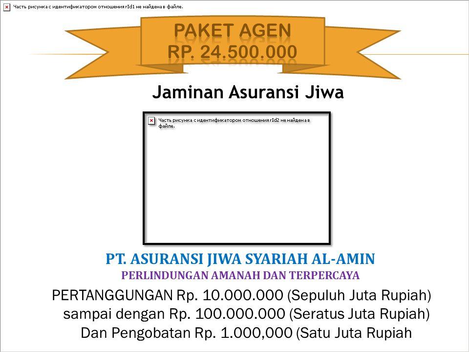 PT. ASURANSI JIWA SYARIAH AL-AMIN PERLINDUNGAN AMANAH DAN TERPERCAYA