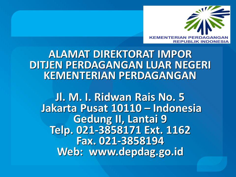Jakarta Pusat 10110 – Indonesia