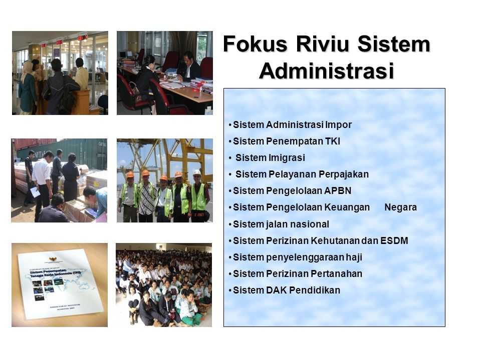 Fokus Riviu Sistem Administrasi