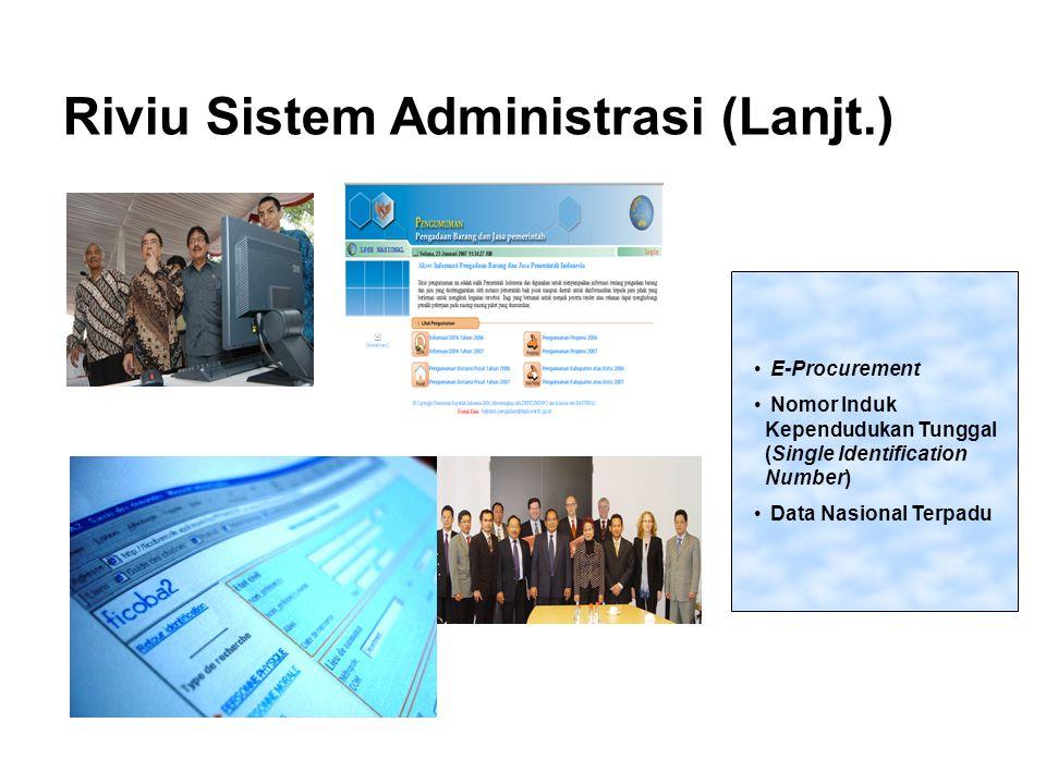 Riviu Sistem Administrasi (Lanjt.)