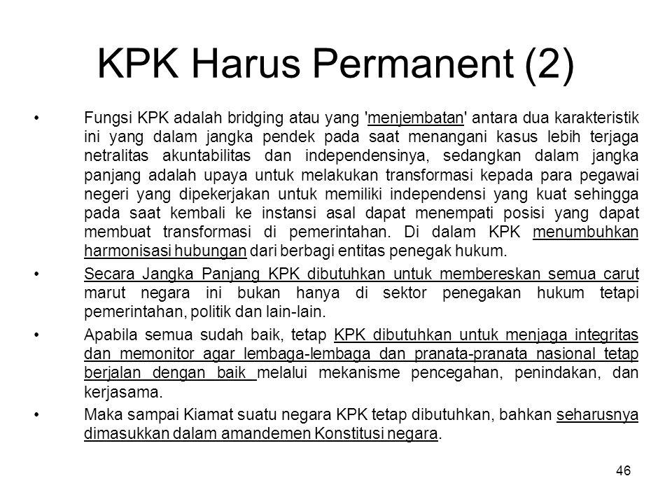 KPK Harus Permanent (2)