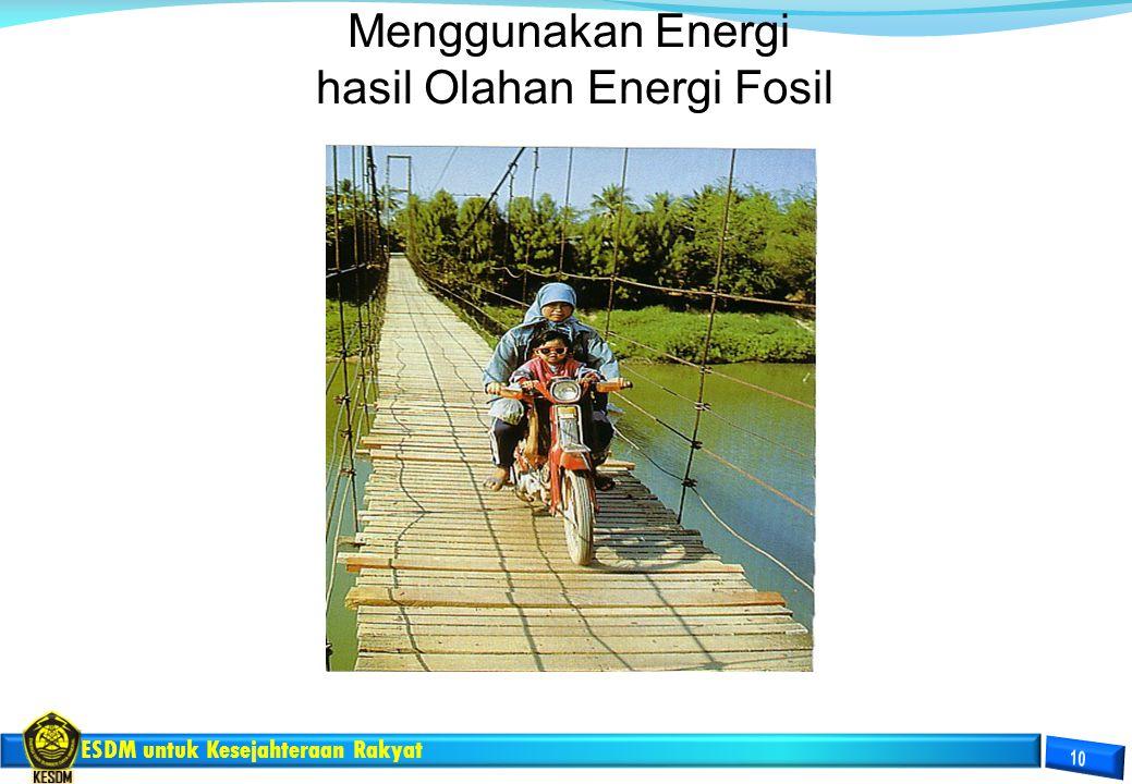 hasil Olahan Energi Fosil