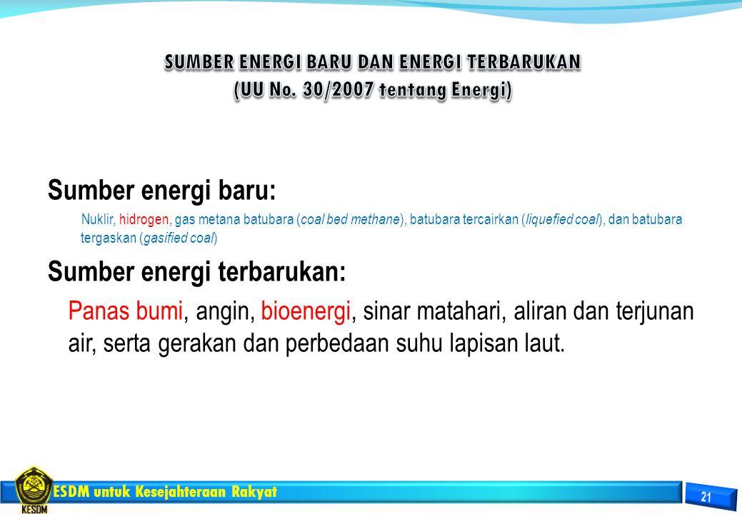 Sumber energi terbarukan:
