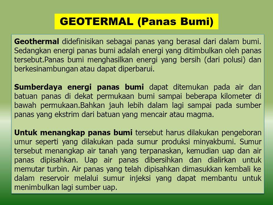 GEOTERMAL (Panas Bumi)