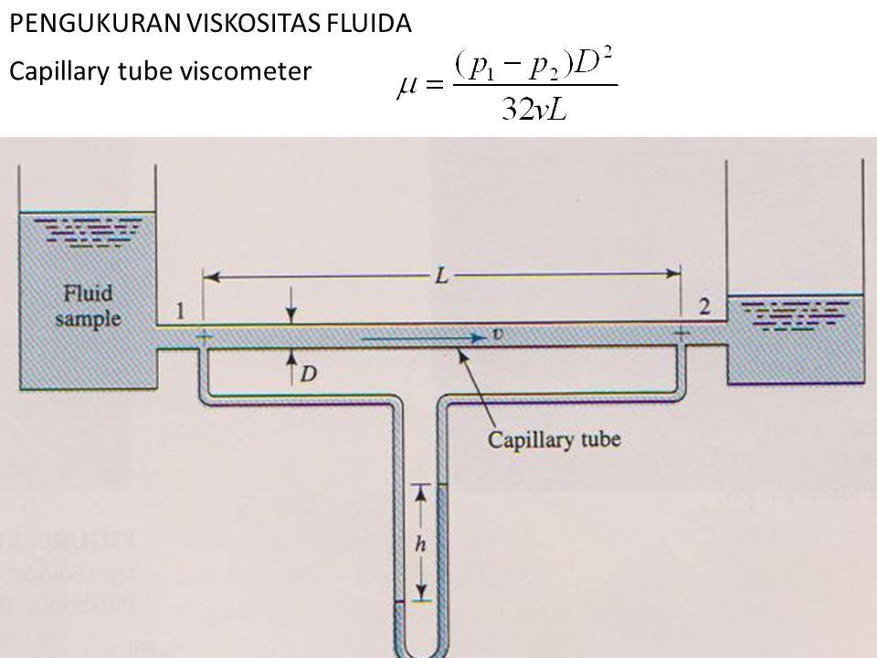 PENGUKURAN VISKOSITAS FLUIDA