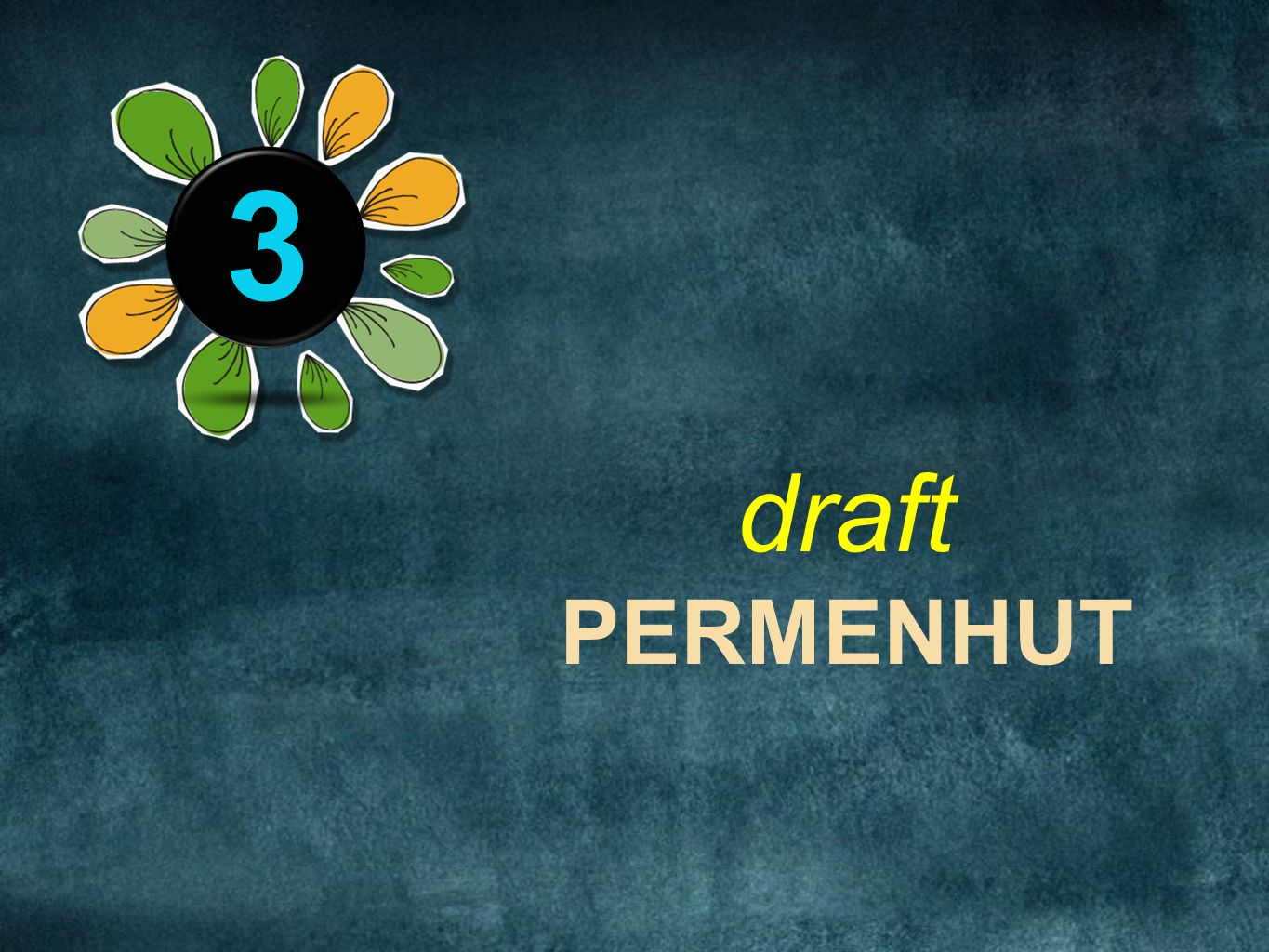 3 The next rule is: Help them see what you are saying. draft PERMENHUT