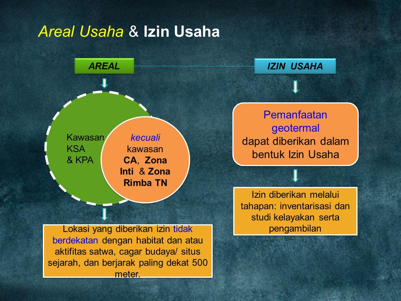 Areal Usaha & Izin Usaha