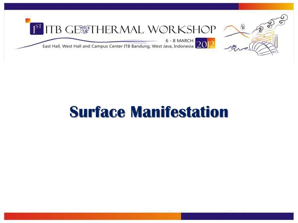 Surface Manifestation