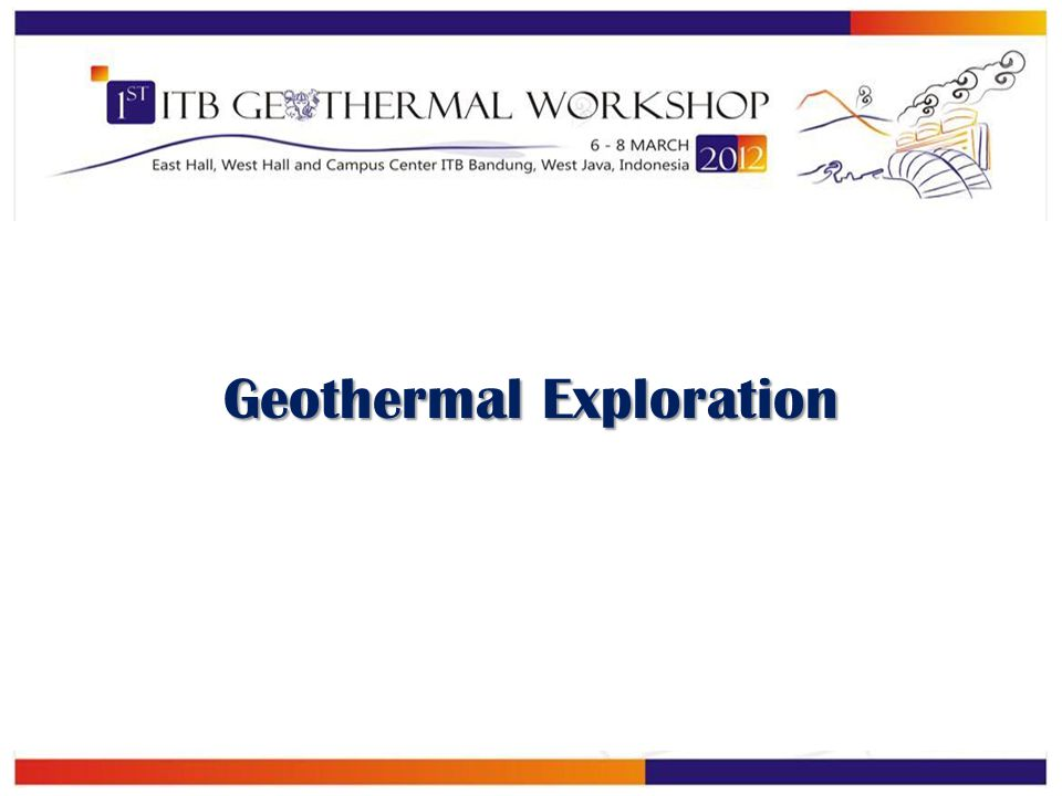 Geothermal Exploration