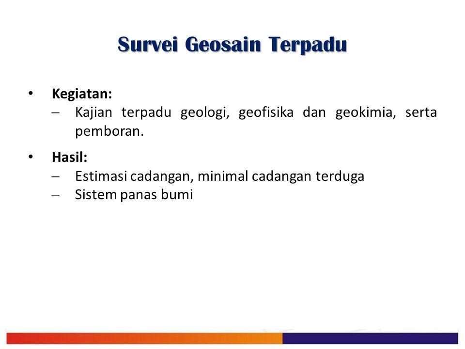 Survei Geosain Terpadu