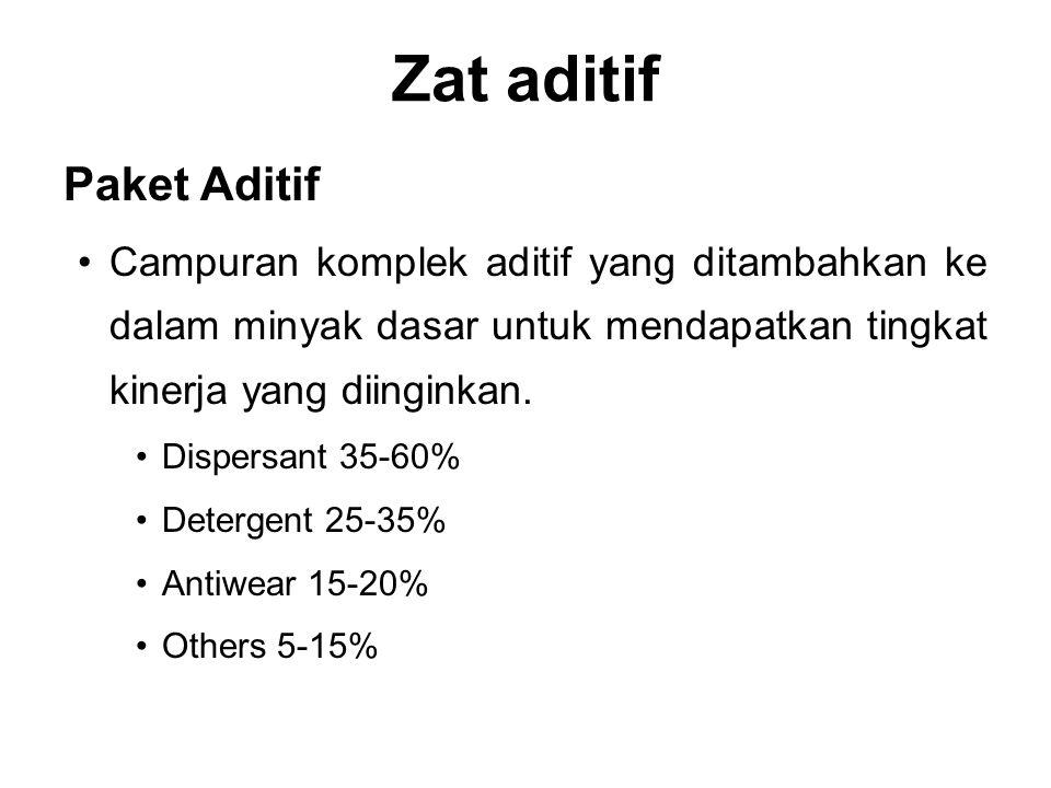 Zat aditif Paket Aditif