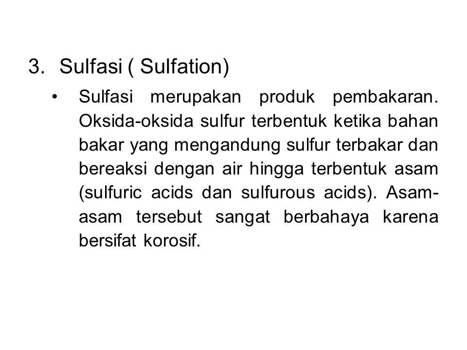 Sulfasi ( Sulfation)