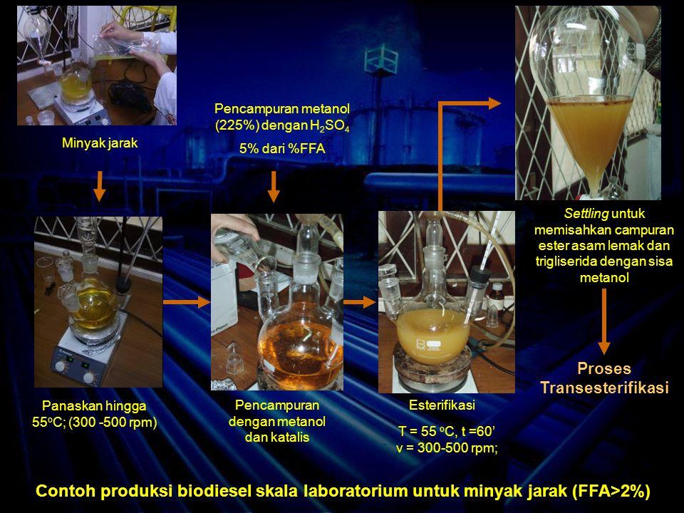 Proses Transesterifikasi