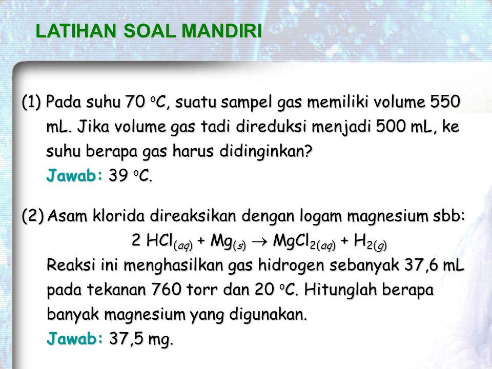 2 HCl(aq) + Mg(s)  MgCl2(aq) + H2(g)