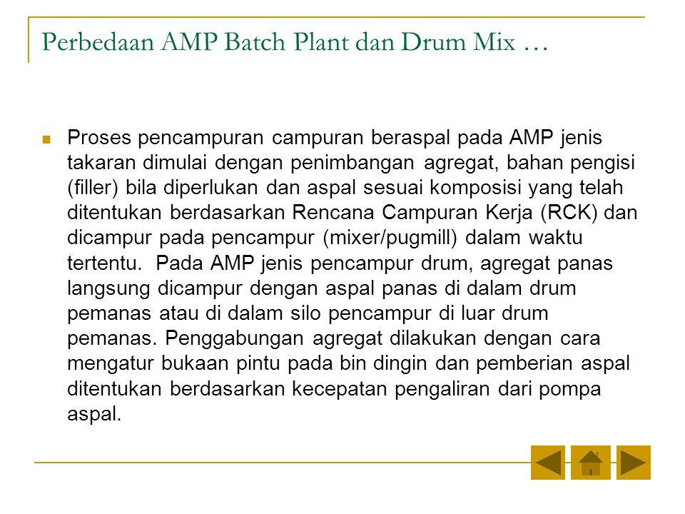 Perbedaan AMP Batch Plant dan Drum Mix …