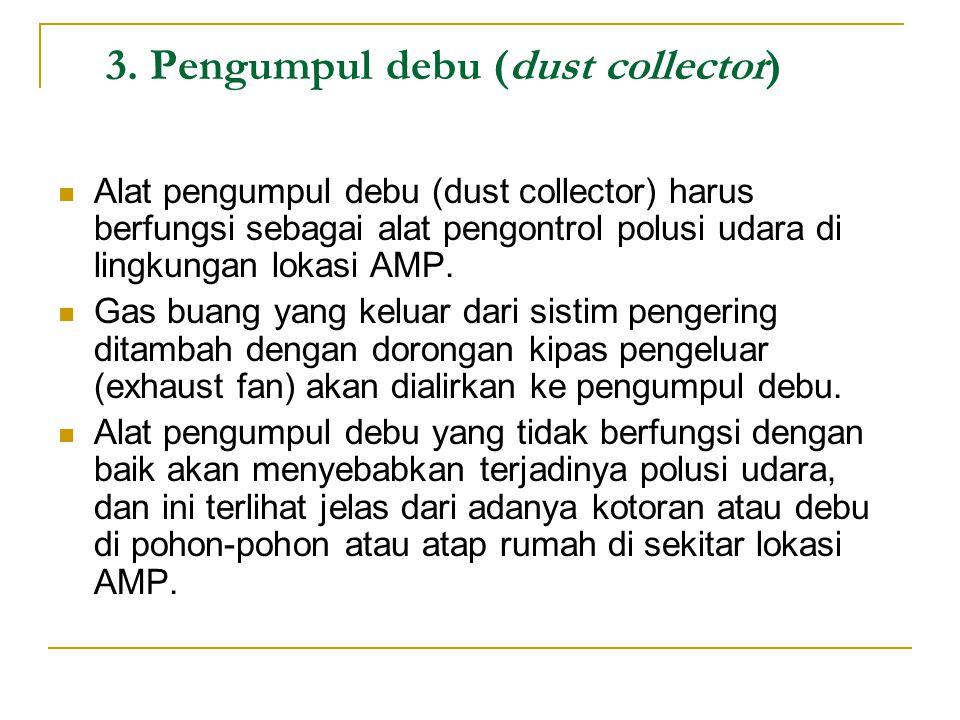 3. Pengumpul debu (dust collector)
