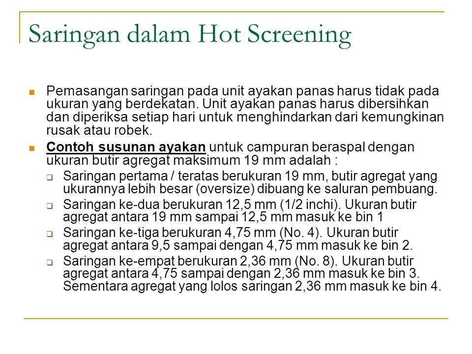 Saringan dalam Hot Screening