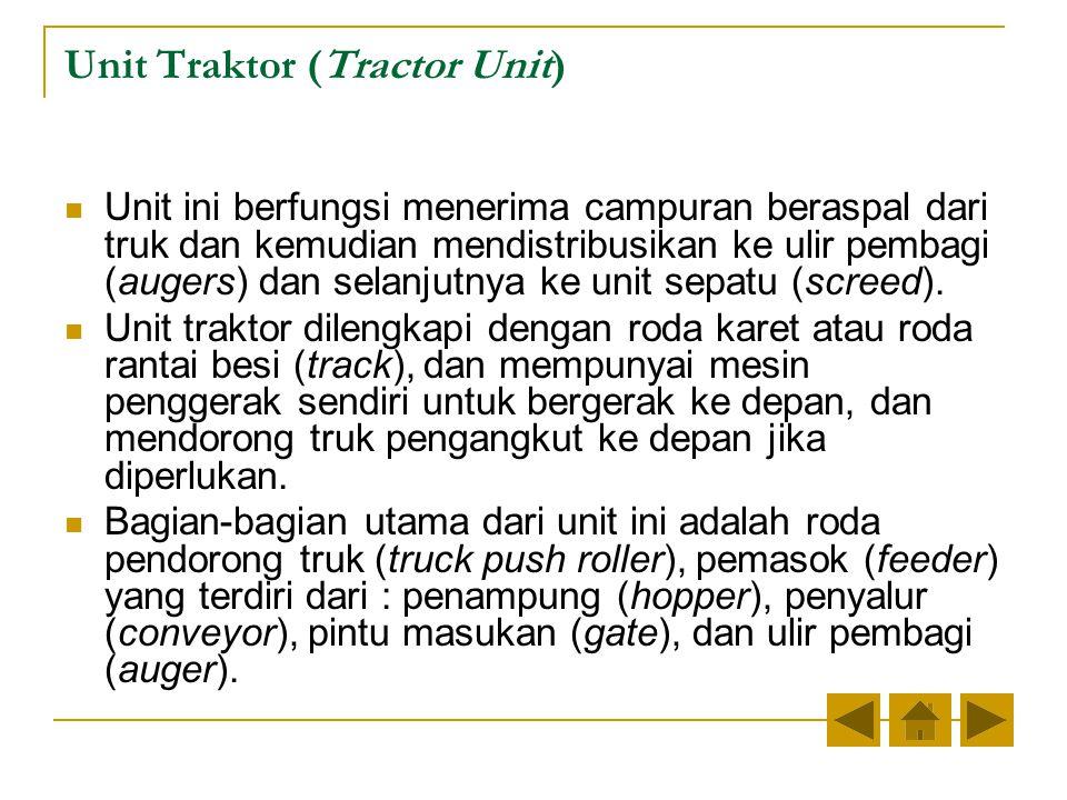 Unit Traktor (Tractor Unit)