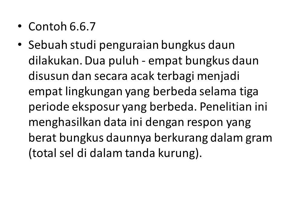 Contoh 6.6.7