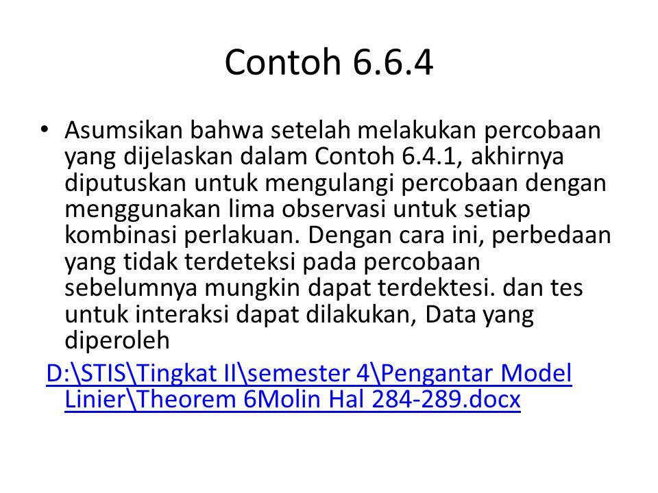 Contoh 6.6.4