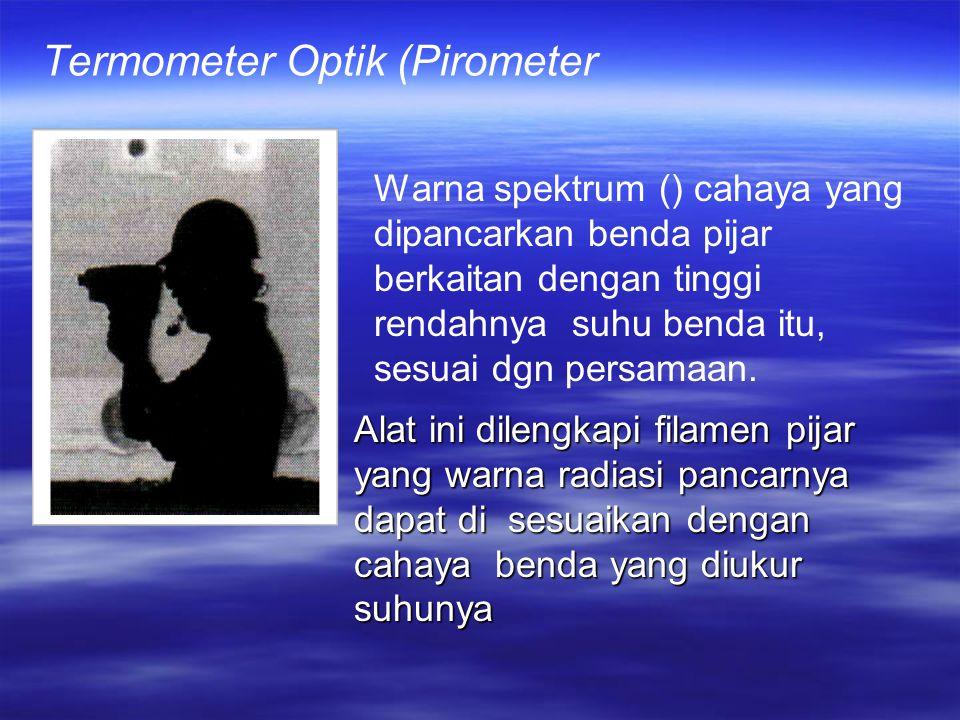 Termometer Optik (Pirometer