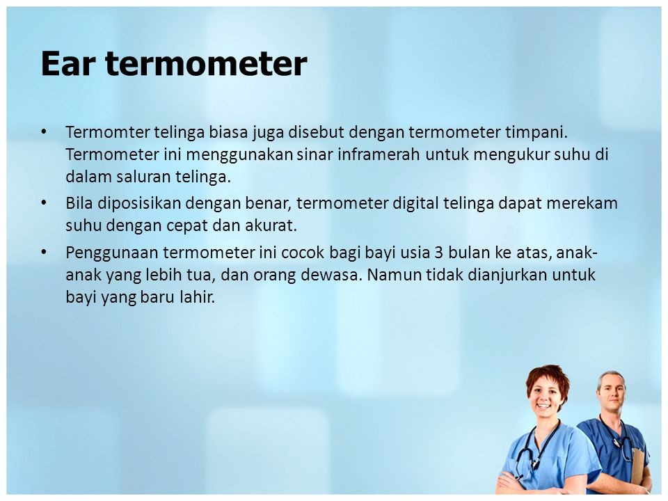 Ear termometer