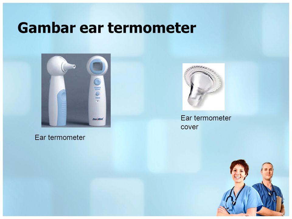 Gambar ear termometer Ear termometer cover Ear termometer
