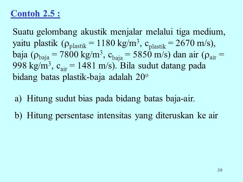 Contoh 2.5 :