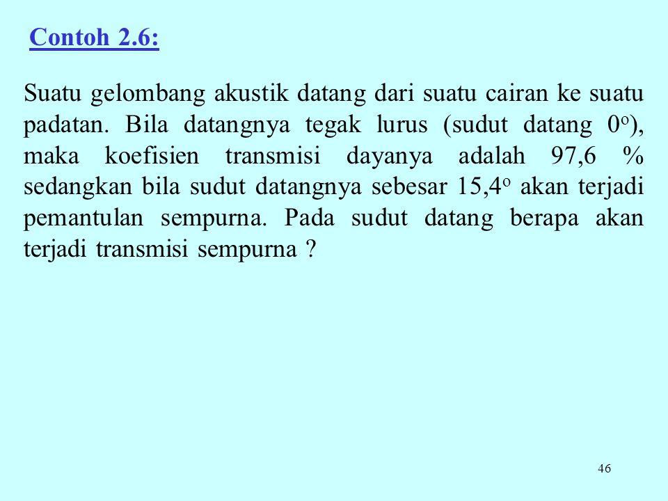 Contoh 2.6: