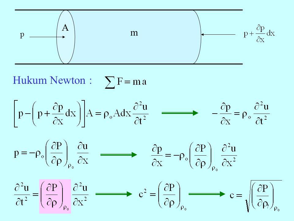 A m p Hukum Newton :