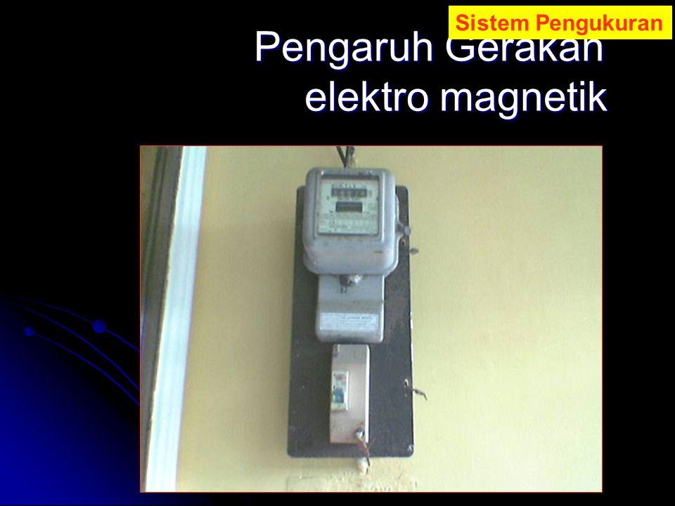 Pengaruh Gerakan elektro magnetik
