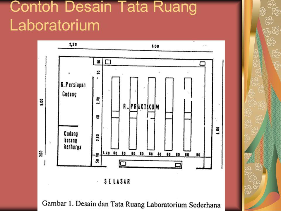 Contoh Desain Tata Ruang Laboratorium