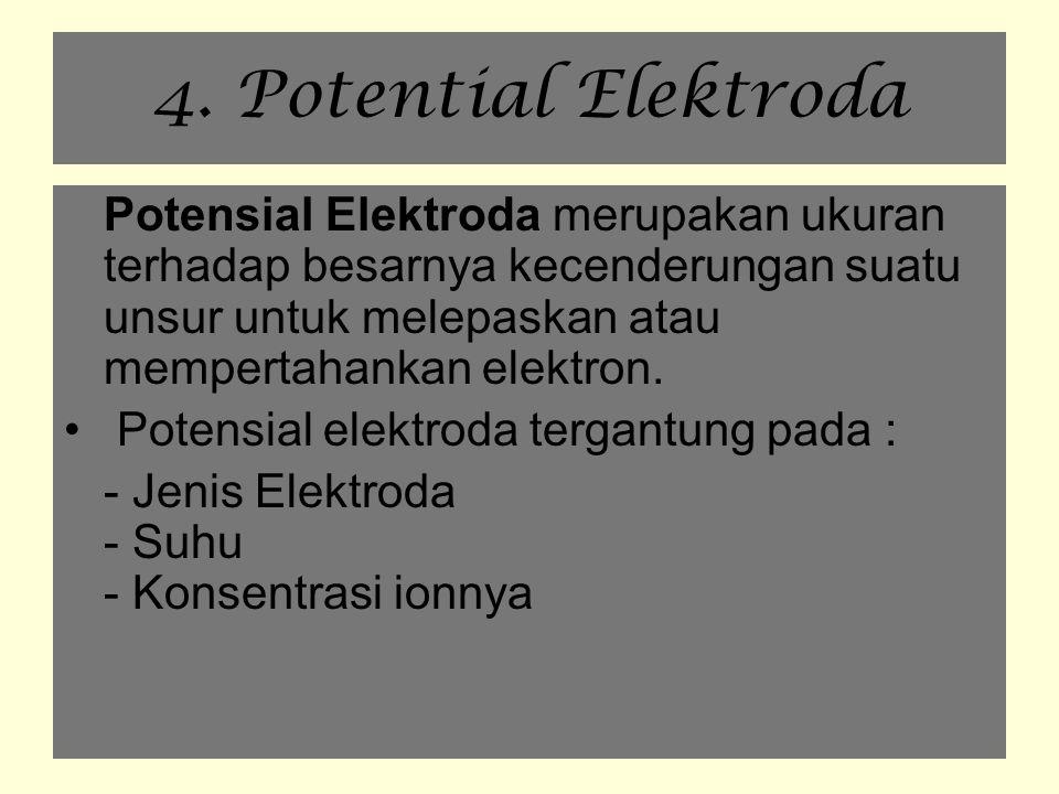 4. Potential Elektroda