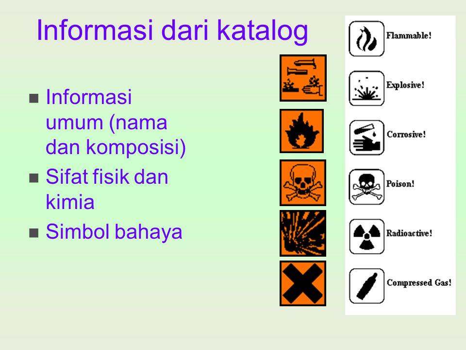 Informasi dari katalog
