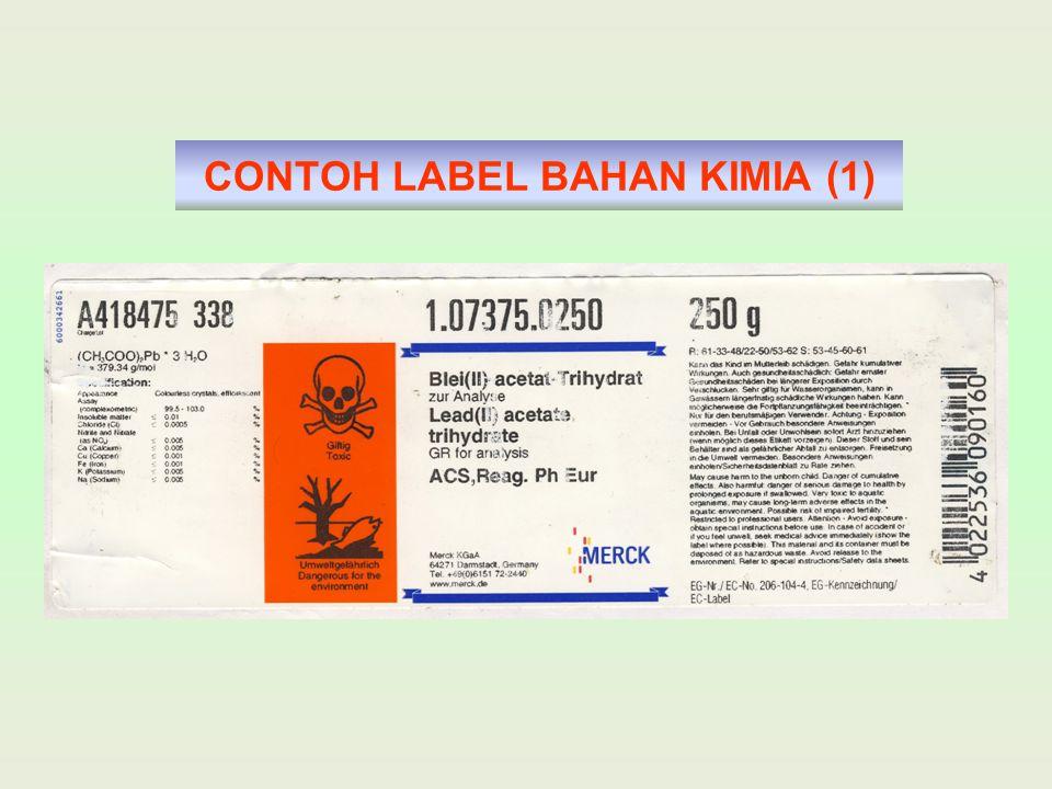 CONTOH LABEL BAHAN KIMIA (1)