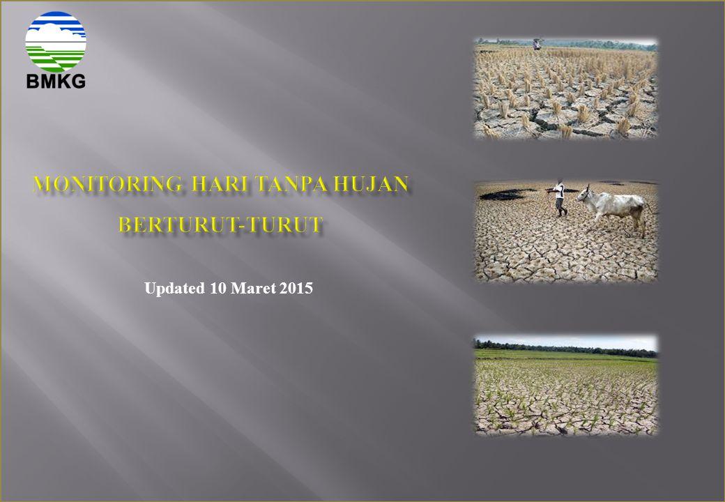 MONITORING HARI TANPA HUJAN BERTURUT-TURUT