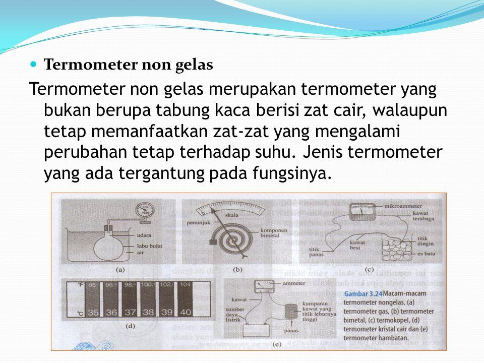 Termometer non gelas