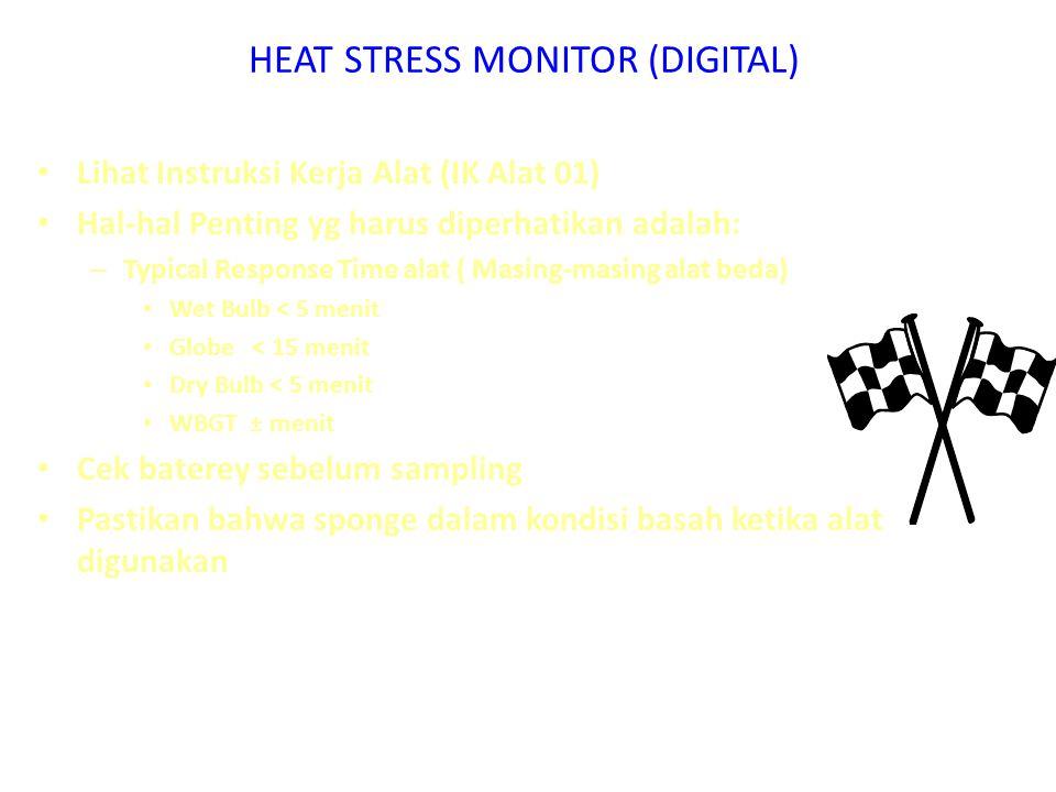 HEAT STRESS MONITOR (DIGITAL)