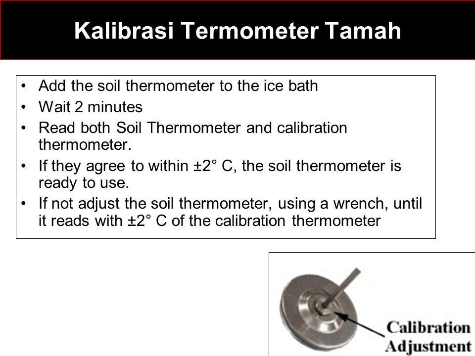 Kalibrasi Termometer Tamah