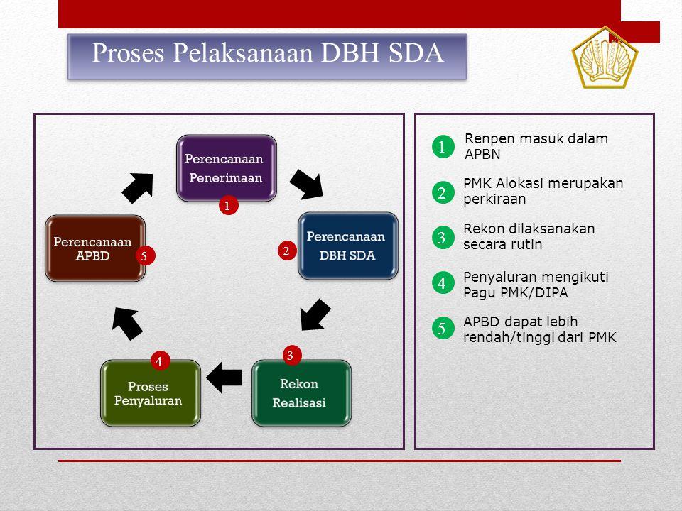 Proses Pelaksanaan DBH SDA