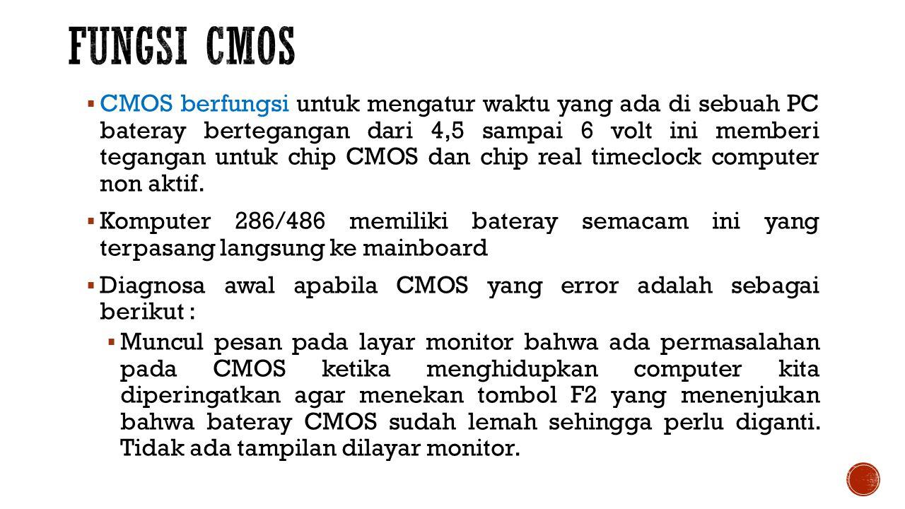 Fungsi CMOS