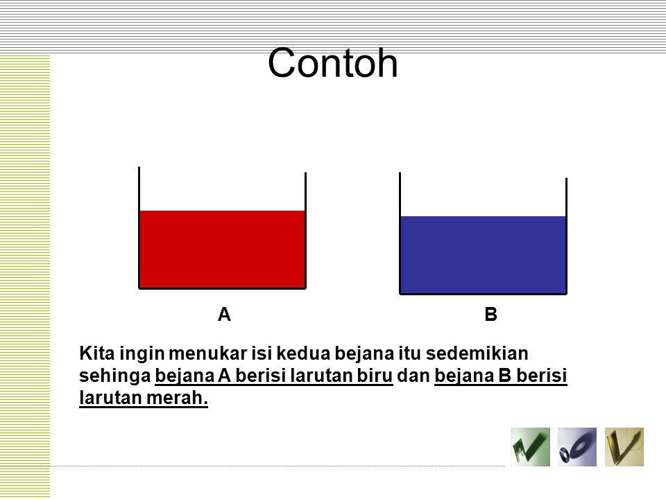 Contoh A. B.