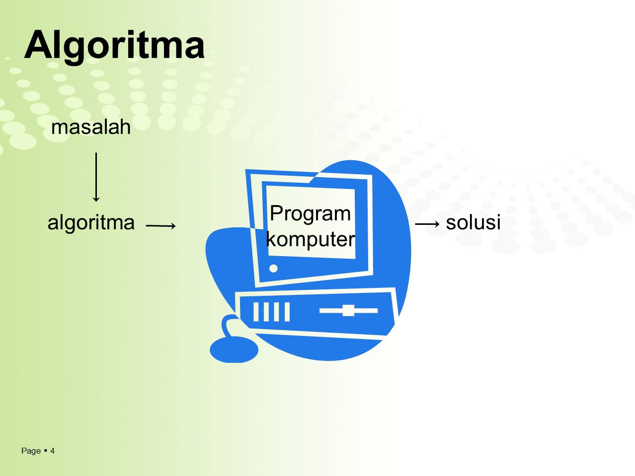 Algoritma masalah Program komputer algoritma solusi