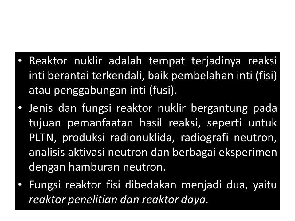 Reaktor nuklir adalah tempat terjadinya reaksi inti berantai terkendali, baik pembelahan inti (fisi) atau penggabungan inti (fusi).
