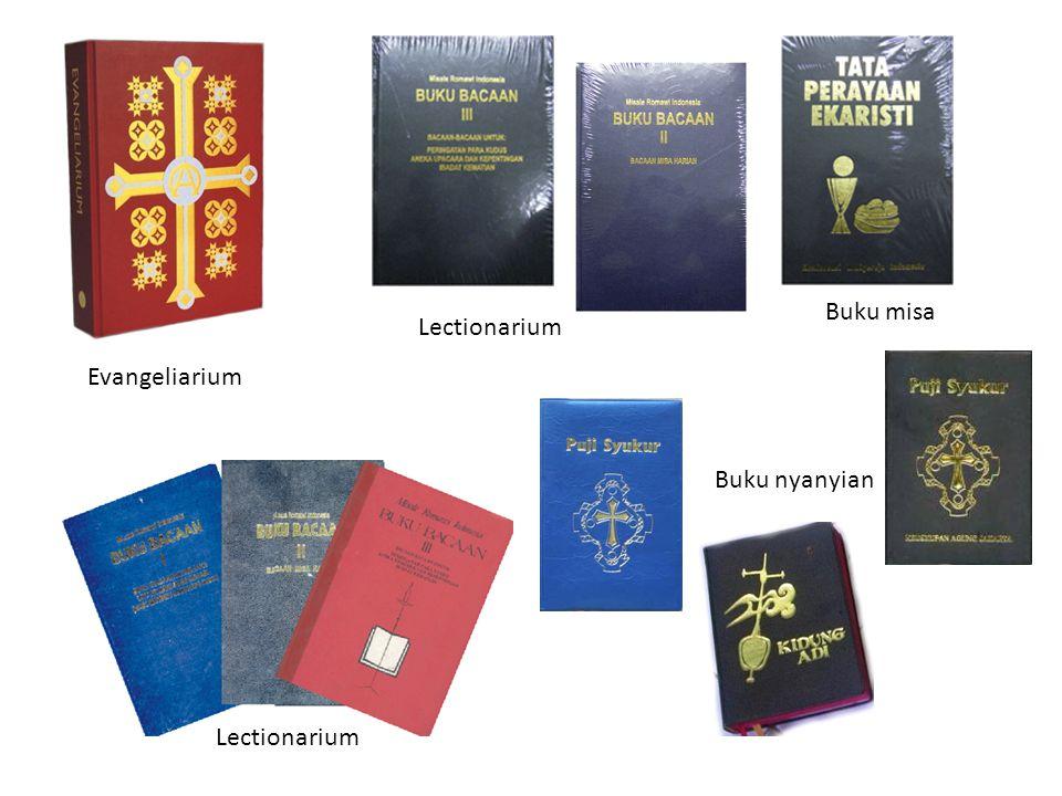 Buku misa Lectionarium Evangeliarium Buku nyanyian Lectionarium