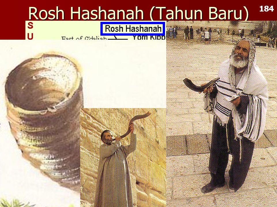 Rosh Hashanah (Tahun Baru)