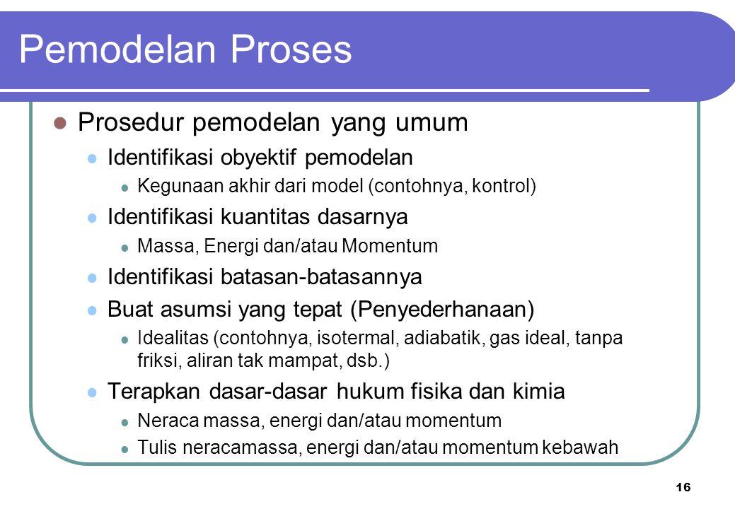 Pemodelan Proses Prosedur pemodelan yang umum